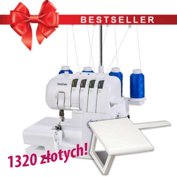 Brother 2104D + stolik SERGERWT2 za 1320 zł!
